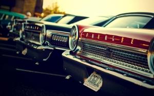 Klasik Otomobiller 78 Amerikan Klasik Arabalar Eski Araclar Kanvas Tablo