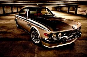 Klasik Otomobiller BMW 1 Amerikan Klasik Arabalar Eski Araclar Kanvas Tablo