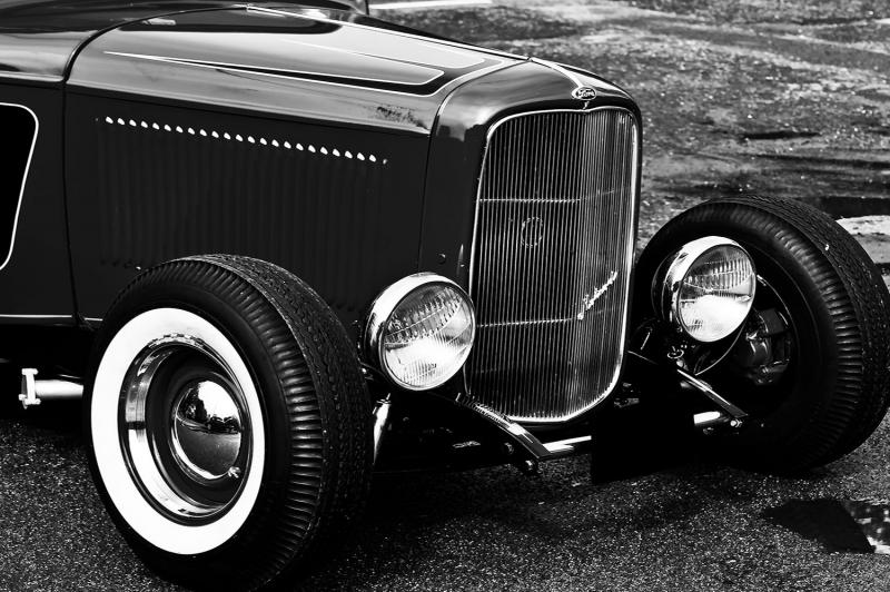 Klasik Otomobiller BR2 1 Amerikan Klasik Arabalar Eski Araclar Kanvas Tablo