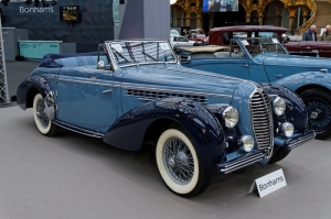 Klasik Otomobiller Delahaye 135m 1 Amerikan Klasik Arabalar Kanvas Tablo