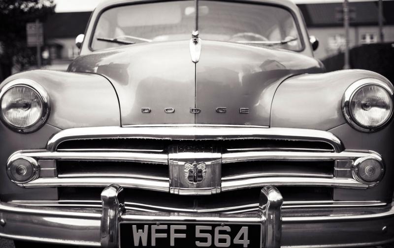 Klasik Otomobiller Dodge 1 Amerikan Klasik Arabalar Kanvas Tablo