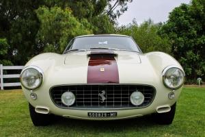 Klasik Otomobiller Ferrari 1 GT 250 Berlinetta SWB Model Amerikan Klasik Arabalar  Kanvas Tablo