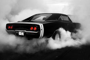 Klasik Otomobiller Mustang-107 Amerikan Klasik Arabalar Kanvas Tablo