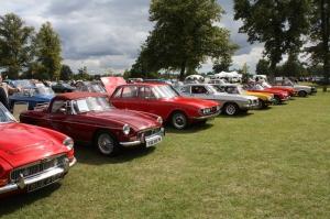 Klasik Otomobiller Sergiler ve Show 1 Amerikan Klasik Arabalar Kanvas Tablo