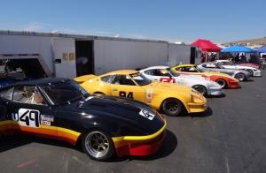 Klasik Otomobiller Sergiler ve Show 2 Amerikan Klasik Arabalar Kanvas Tablo