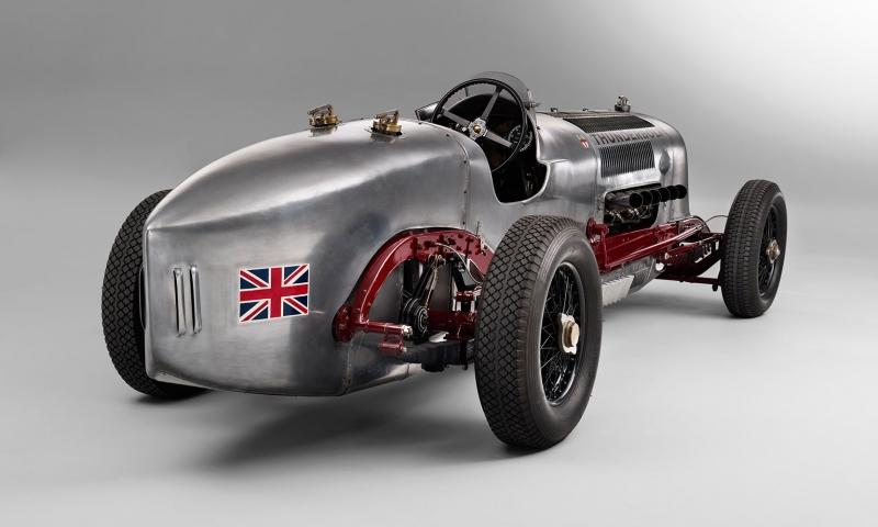 Klasik Otomobiller Thunder Boltrear 1 Amerikan Klasik Arabalar  Kanvas Tablo