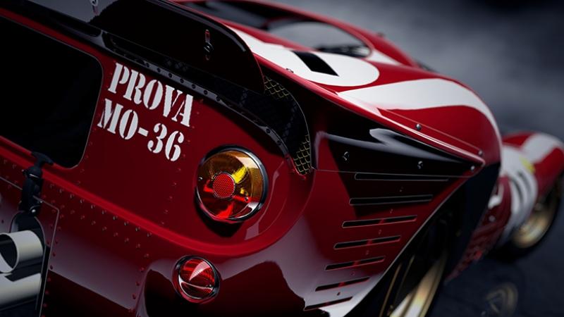 Klasik Yarış Otomobili Araçlar Kanvas Tablo