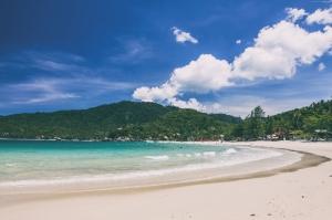 Ko Phangan Kumsal Taylant Doğa Manzaraları Kanvas Tablo