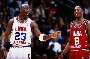 Kobe Bryant Michael Jordan Nba Athletes Basketbol Kanvas Tablo