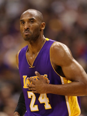 Kobe Byrant-2 Los Angeles Laker Basketbol Kanvas Tablo