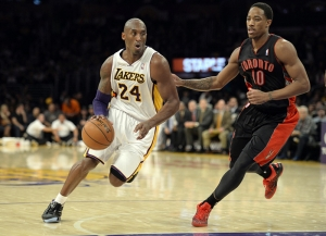 Kobe Byrant Los Angeles Lakers Basketbol Nba Kanvas Tablo