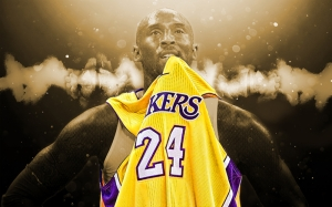 Kobe Byrant Los Angeles Lakers Spor Basketbol Kanvas Tablo