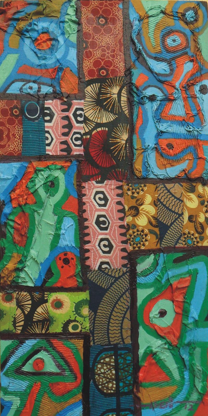 Kolaj Tablo 4 Yağlı Boya Sanat Kanvas Tablo