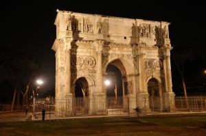 Konstantin Kemeri Roma Şehir Manzaraları Kanvas Tablo
