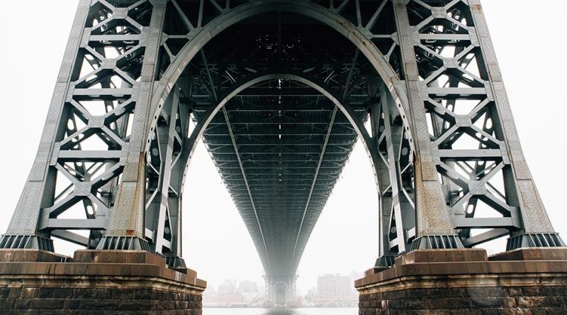 Köprü Ayakları Dünyaca Ünlü Şehirler Kanvas Tablo