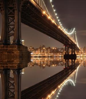 Köprü Manzarası Dünyaca Ünlü Şehirler Kanvas Tablo