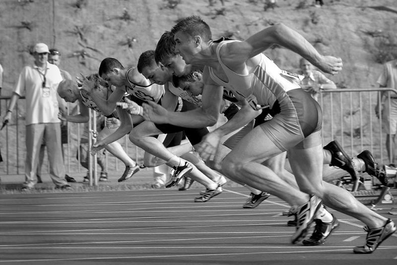 Koşucular Spor Kanvas Tablo
