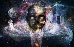 Kozmik Kolaj Popüler Kültür Kanvas Tablo