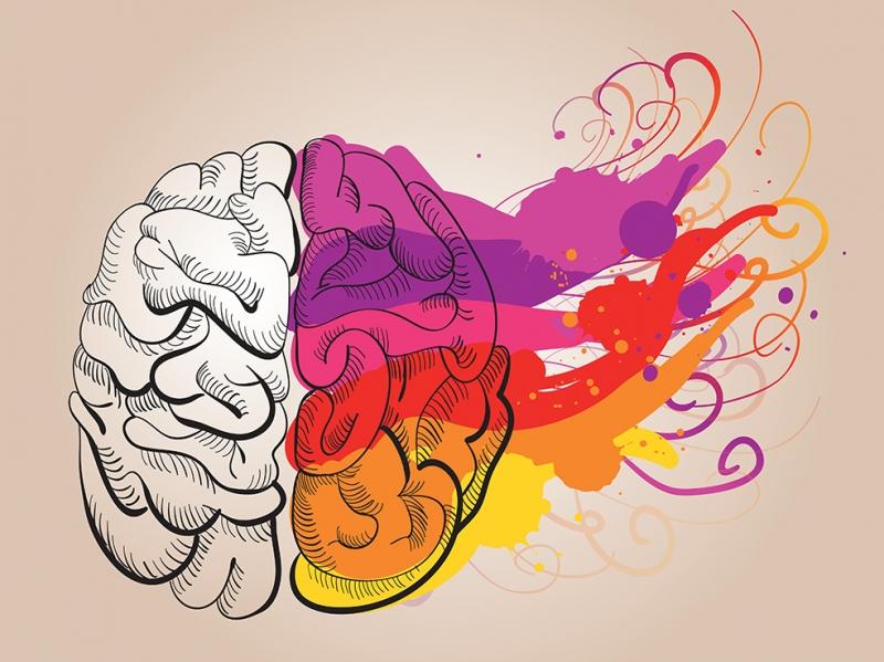 Kreatif Beyin Popüler Kültür Kanvas Tablo