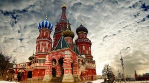 Kremlin Sarayı Rusya Şehir Manzarası Dünyaca Ünlü Şehirler Kanvas Tablo