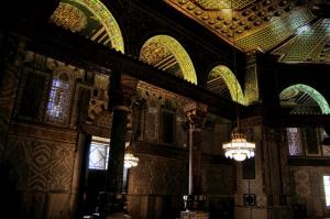 Kubbestüs Sahra İç Görünümü Kudüs Dini İnanç Kanvas Tablo