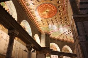 Kubbestüs Sahra ve Muallak Taşı Dini İnanç Kanvas Tablo