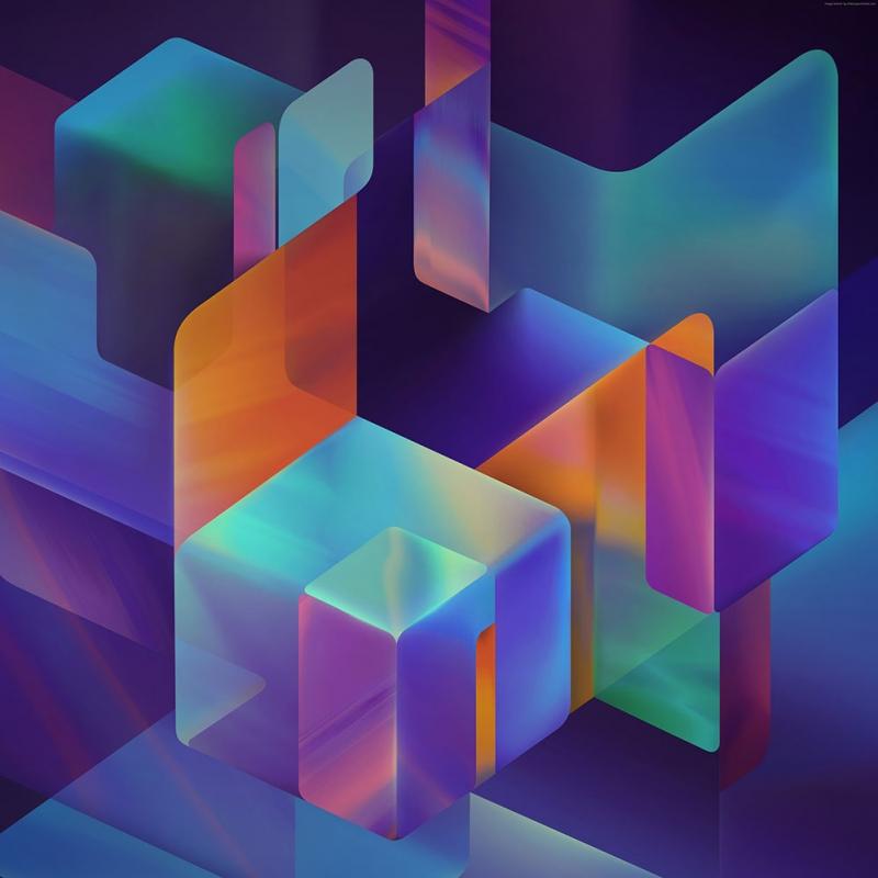 Küpler Abstract Kanvas Tablo