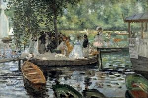Kurbağa, Pierre August Renoir, La Grenouille-1 Klasik Sanat Kanvas Tablo