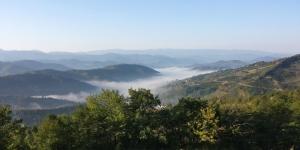Kure Dağları Kuş Bakışı Doğa Manzaraları Kanvas Tablo