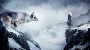 Kurt Fantastik Hayvanlar Kanvas Tablo