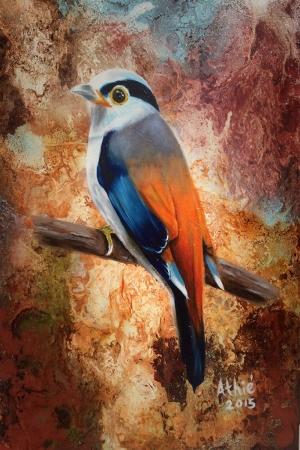 Kuş-44 Modern Sanat Kanvas Tablo