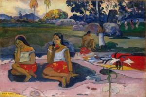 Kutsal Bahar Tatlı Rüyalar Sacred Spring Sweet Dreams Paul Gauguin Reproduksiyon Kanvas Tablo
