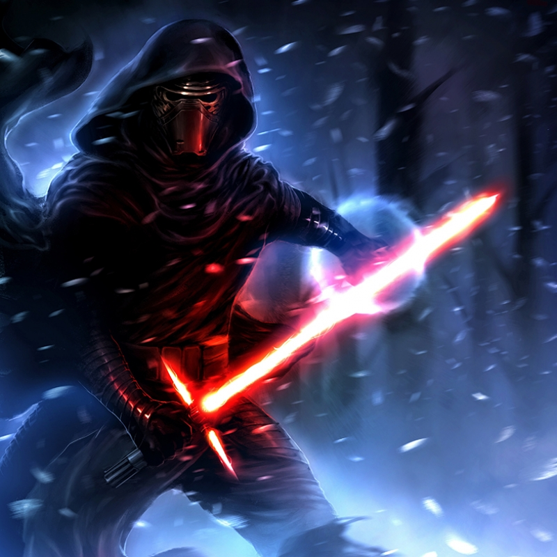 Kylo Ren 4 Star Wars Kanvas Tablo