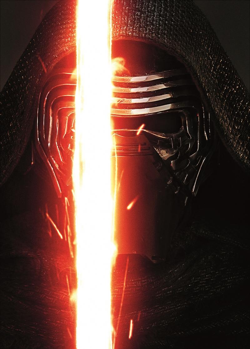 Kylo Ren 2 Star Wars Kanvas Tablo