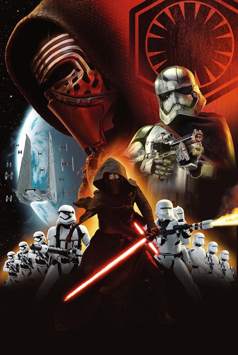 Kylo Ren Savaşçıları Star Wars Kanvas Tablo
