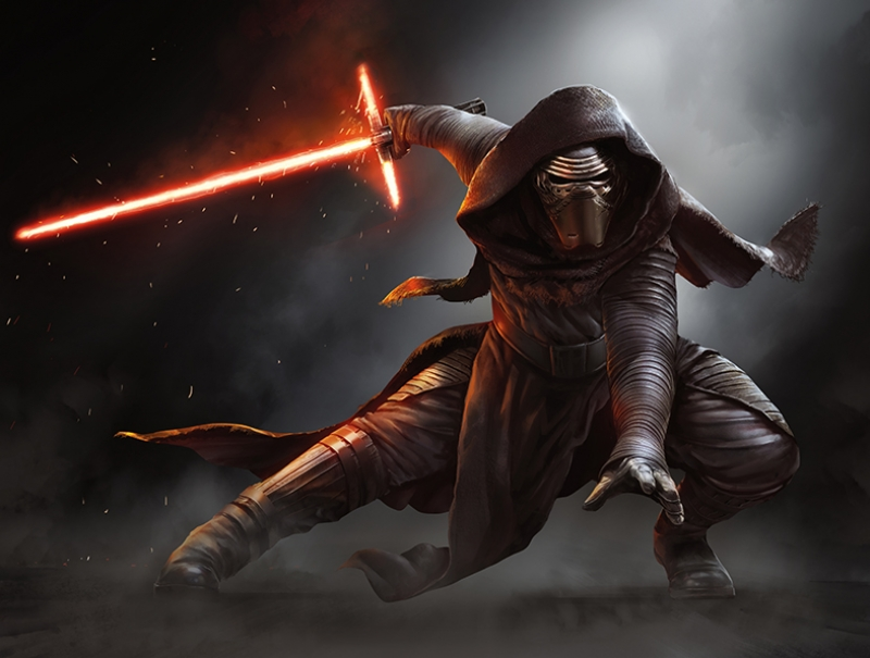 Kylo Ren Star Wars Kanvas Tablo