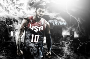 Kyrie İrving Basketbol Nba Kanvas Tablo