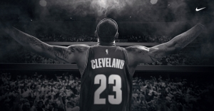 Lebron James Selamlama Cleveland Basketbol Spor Kanvas Tablo