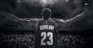 Lebron James Selamlama Cleveland Basketbol Spor Kanvas Tablo