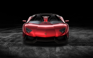 Lamborghini Aventador J Araçlar Kanvas Tablo