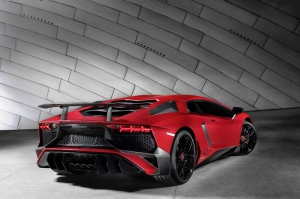 Lamborghini Aventador LP 750 SV Spor Otomobil Araçlar Kanvas Tablo