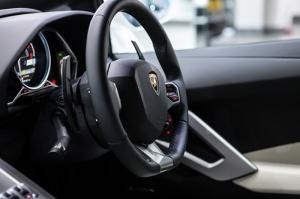 Lamborghini Aventador Kokpit Detay Otomobil Araçlar Kanvas Tablo