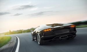 Lamborghini Aventador Otomobil Araçlar Kanvas Tablo 2