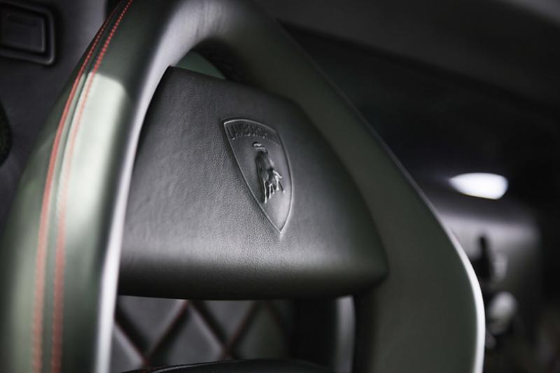 Lamborghini Deri Koltuk Otomobil Araçlar Kanvas Tablo