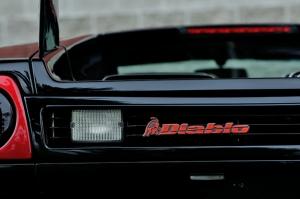 Lamborghini Diablo 2 Otomobil Araçlar Kanvas Tablo