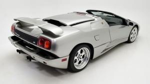 Lamborghini Diablo Roadster Otomobil Araçlar Kanvas Tablo