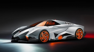 Lamborghini Egoista Spor Otomobil Araçlar Kanvas Tablo