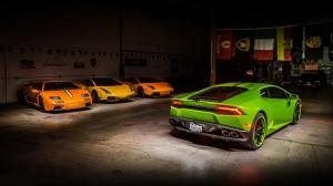 Lamborghini Huracan 2 Otomobil Araçlar Kanvas Tablo