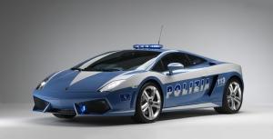 Lamborghini Huracan Lp610 4 Polizia Spor Otomobil Araçlar Kanvas Tablo