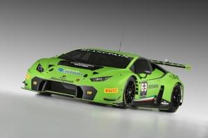 Lamborghini Huracan Ralli 2 Otomobil Araçlar Kanvas Tablo